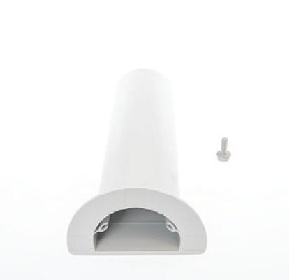 Барабан для контроля радиуса изгиба кабеля в шкафах FIST-GR3. Глубина: 218, Ширина: 60, цвет: серый