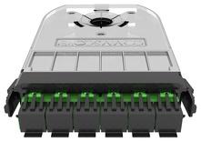 Кассета 360 G2 6xLC APC Duplex, iPatch Ready, SM, цвет: зелёный