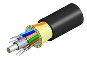Универсальный распределительный оптический кабель, волокон: 18, Тип волокна: G.652.D and G.657.A1, TeraSPEED®, конструкция: центральный силовой элемент, волокна в 900mk буфере, слой кевлара, изоляция: LSZH UV stabilized Riser, EuroClass: Dca, диаметр: 7,2 мм, -40 - +70 град., цвет: чёрный