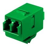 Гнездо SL-типа-соединитель LC Duplex SM/MM, цвет: зелёный