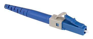 Бесклеевоё разъём Qwik-Fuse, Интерфейс: LC, Волокно: SM-UPC, на волокно 250µm/900µm, Цвет: Синий, уп-ка: 12