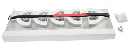 Корзина для хранения запаса волокна в панелях серии FIST-GPS2, высота: 2 поддона
