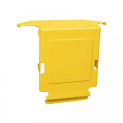FiberGuide® крышка для Extended Downspout из 150х100 мм в 100x100, цвет: жёлтый