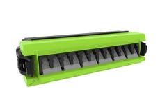 Адаптерная планка 360 G2 6xLC Duplex OM5 шторки: да, цвет: lime (вместо 760236044)