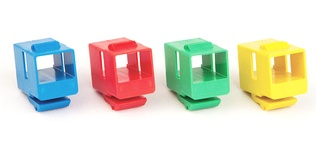 Вставка SL-типа: соединитель LC/LC Duplex, Тип: SM/MM, Цвет: бежевый