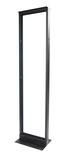 """Открытая монтажная стойка 1-рамная 45U 19"""", материал: алюминий, цвет: чёрный, ШхГхВ: 518х381х2133, статическая нагрузка кг: 453, уп.: flat pack"""