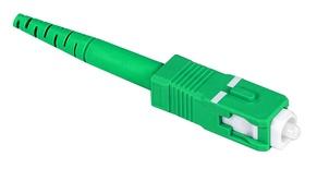 Бесклеевоё разъём Qwik-Fuse, Интерфейс: SC, Волокно: SM-APC, на волокно 250µm/900µm, Цвет: Зелёный, уп-ка: 12
