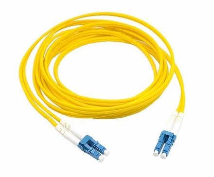 Коммутационный шнур  LC-UPC/LC-UPC-дуплексный 1.8мм, OS2, оболочка: LSZH, цвет: жёлтый, длина м: 20