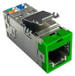 Экранированное гнездо RJ45 AMPTWIST SLX, Cat.6, цвет: зелёный