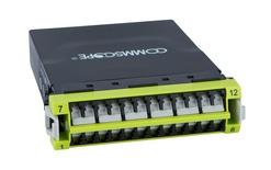 Модуль G2 ULL 12LC Duplex/2xMPO12(f) OM5, Method B Enhanced, шторки: да, цвет: lime
