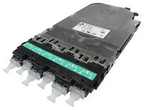 Кассета CHD ULL OM4 6xLC Duplex в комплекте с ленточными пигтейлами, Method B Enchanced, цвет: бирюзовый