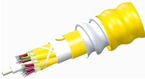 Внутренний оптический кабель, кол-во волокон: 36, Тип волокна: G.652.D and G.657.A1 TeraSPEED® буфер 900мк, бронирование: алюминиевая лента, изоляция: LSZH Riser, EuroClass: B2ca, диаметр: 23 мм, -20 - +70 град., цвет: жёлтый
