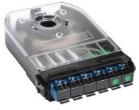 Кассета 360 G2 2хSC Duplex/1хSC APC Duplex SM с пигтейлами, цвет: синий