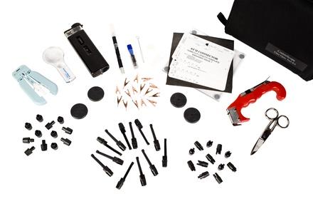 Комплект инструмента для монтажа оптических разъёмов LC, SC, ST по клеевой технологии Anaerobic EZ