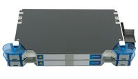 Шасси FACT™ Splice-Only с 24 поддонами на 4 SMOUV гильзы каждый, цвет: серый, высота: 2E=1.4RU