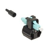 Бесклеевой разъём LazrSPEED® Fiber Qwik II-LC Connector™ MM, цвет: бирюзовый