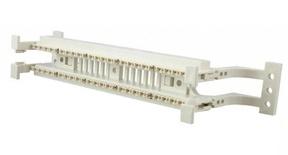 Комплект кроссовой панели 110ХС Cat.5e с монтажными ножками, Количество пар: 50, Соединительные блоки: 5-парные