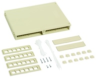 Пластиковая точка консолидации M224CPN, кол-во портов: до 24, Non-Plenum, ВхШхГ мм:214х308х37, цвет: ivory