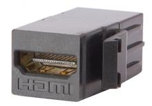 Проходной соединитель SL-типа HDMI, цвет: чёрный