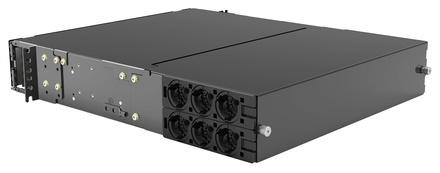 Выдвижная панель SYSTIMAX® EHD High Speed Migration. Высота: 2RU, Ёмкость: до 12 кассет EHD ULL, сплайс кассет или MPO планок, до 144 duplex LC или до 144 MPO, цвет: чёрный