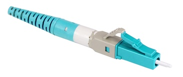 Бесклеевоё разъём Qwik-Fuse, Интерфейс: LC, Волокно: OM3/OM4/OM5, на кабель 1.6/2.0 mm, Цвет: бирюзовый, уп-ка: 12