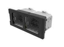 AMP CO™ Ultra установочный комплект формата Quick-Fit (2 порта)