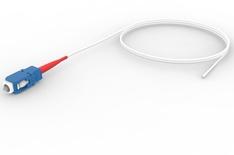 SС-полушнур, настраиваемый, Тип волокна: OS2 9/125 мкм, Буфер: легкоснимаемый, 2 м