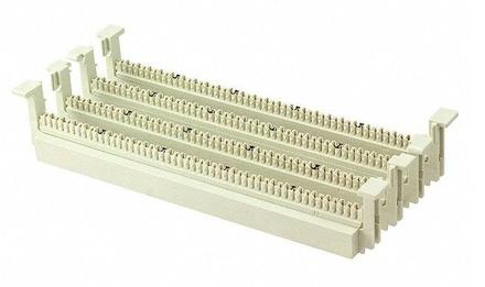 Кроссовая панель 110ХС, Количество пар: 100