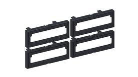 Комплект из 4 адаптеров для оптических модулей к панели 760238657
