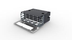 Коммутационная панель Systimax 4RU до 16xG2 модулей с фронтальным кабельным органайзером