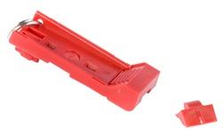 Инструмент для блокировки и изъятия коммутационного шнура из гнезда LCD , цвет: красный, уп.: 25