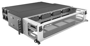 Коммутационная панель Systimax High Density 2RU для установки до 8 модулей G2, с фронтальным кабельным органайзером, до 96 LC Duplex или до 64 MPO