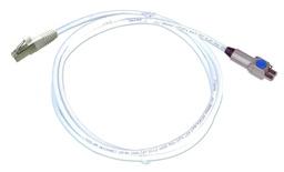 Экранированный коммутационный шнур AMPTWIST-7aS/RJ45, кол-во пар: 4, Cat.6a, оболочка: LSZH, цвет: белый, -20-+60 грд, длина м: 0,5