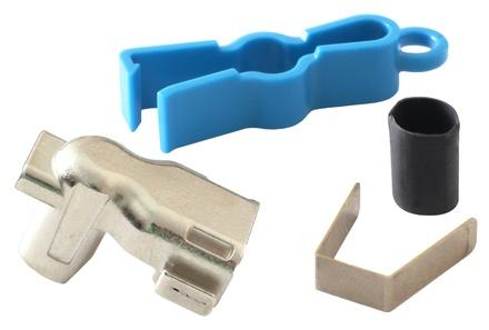 Хвостовик для гнёзд SLX для вывода кабеля под углом 90 градусов в 4 направлениях, упаковка: 50 шт.