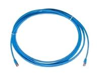 Экранированный коммутационный шнур Cat.6A S/FTP, калибр: AWG30, оболочка: LSZH, цвет: синий, длина м: 1