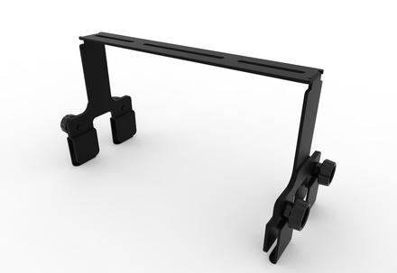 FiberGuide® 12in Horizontal Tool-less Bracket Kit for 4x12in System, Kit of 80