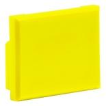 Заглушка порта для розеток M-серии M21A, цвет: жёлтый