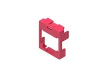 Маркерная насадка для гнезда AMPTWIST SLX, цвет: красный, уп.: 50
