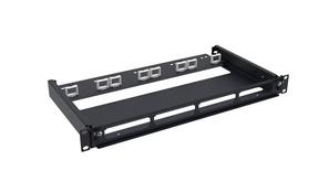 Коммутационная панель серии AGILE выдвижная открытая, до 4 модулей G2 или адаптеров, до 48 LC Duplex или 32 MPO портов