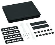 Пластиковая точка консолидации M224CPN, кол-во портов: до 24, Non-Plenum, ВхШхГ мм:214х308х37, цвет: чёрный