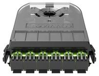 Кассета 360 G2 3хSC Duplex APC, SM TeraSPEED®, с пигтейлами, цвет пигтейлов: B, цвет: зелёный