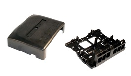Розеточная коробка Surface Mount Module для гнёзд AMPTWIST и SL, 6-портовая, Цвет: чёрный