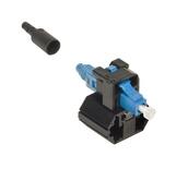 Бесклеевой разъём TeraSPEED® Fiber Qwik II-LC Connector™ SM, цвет: синий