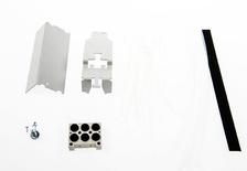 Комплект для прокладки и фиксации OSP кабеля в каблепроводе рядом с панелью