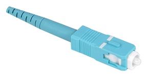 Бесклеевоё разъём Qwik-Fuse, Интерфейс: SC, Волокно: OM3/OM4/OM5, на волокно 250µm/900µm, Цвет: бирюзовый, уп-ка: 12
