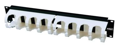 """Горизонтальный организатор 19"""" для системы 110Connect XC, 2RU, цвет: белый"""