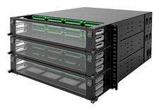 Панель под сварку UDS 36 модулей UDS по 12 Duplex LC APC, Метод: А, Высота: 6RU, цвет: чёрный