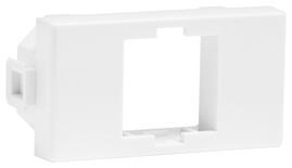 Адаптер под розетку итальянского стандарта 23,62х47,24 LF84IT для гнёзд M-серии, цвет: белый