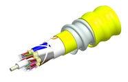 Внутренний оптический кабель, кол-во волокон: 8, Тип волокна: G.652.D and G.657.A1 TeraSPEED® буфер 900мк, бронирование: алюминиевая лента, изоляция: LSZH Riser, EuroClass: B2ca, диаметр: 12,8 мм, -20 - +70 град., цвет: жёлтый