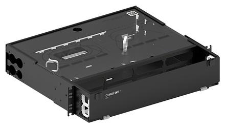 Коммутационная панель серии EPX фиксированная закрытая, до 8 модулей G2, до 96 LC Duplex, высота: 2RU